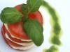 Catering / Walking dinner: voorgerecht salade caprese