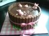Taarten: biggetjes chocolade taart