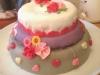 Taarten: verjaardags taart meisje